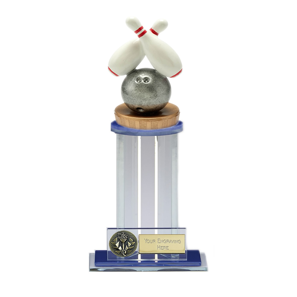 21cm Ten Pin Bowling Figure on Bowling Trafalgar Award