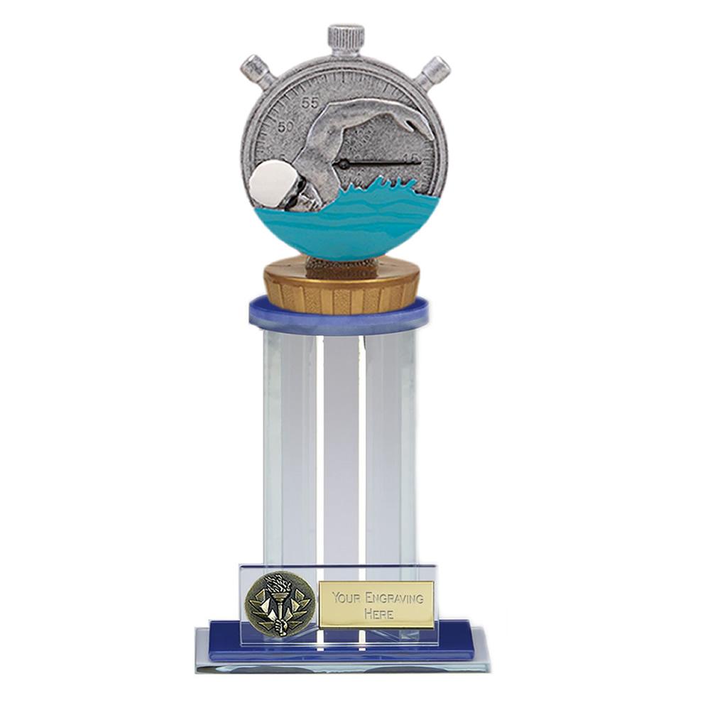 21cm Swimming Figure on Swimming Trafalgar Award