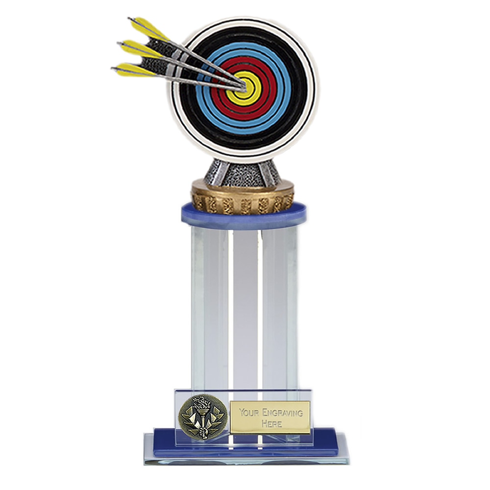 21cm Archery Figure on Archery Trafalgar Award