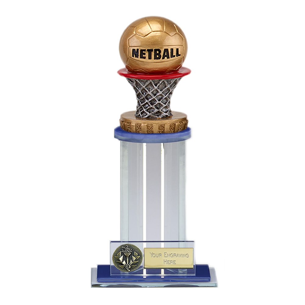 21cm Netball Figure on Netball Trafalgar Award