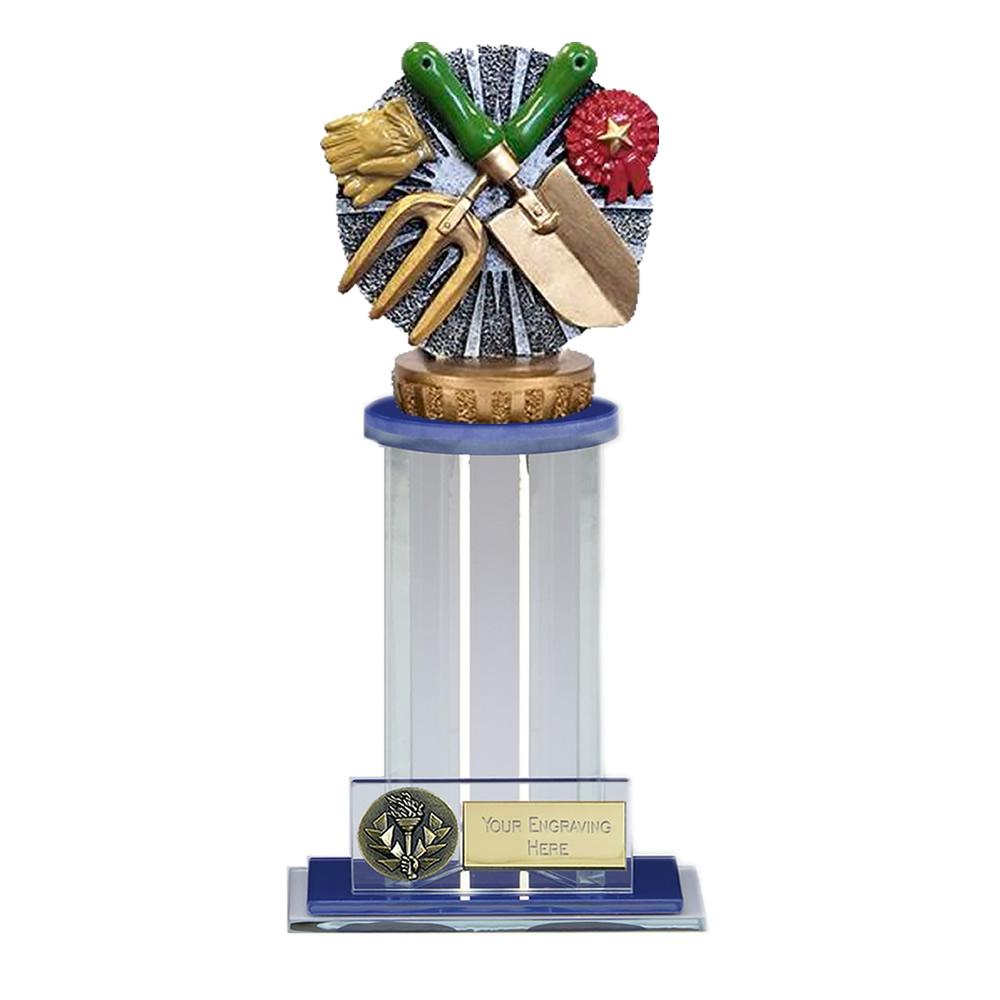21cm Gardening Figure On Trafalgar Award