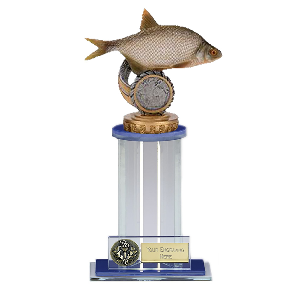 21cm Fish Bream Figure on Fishing Trafalgar Award