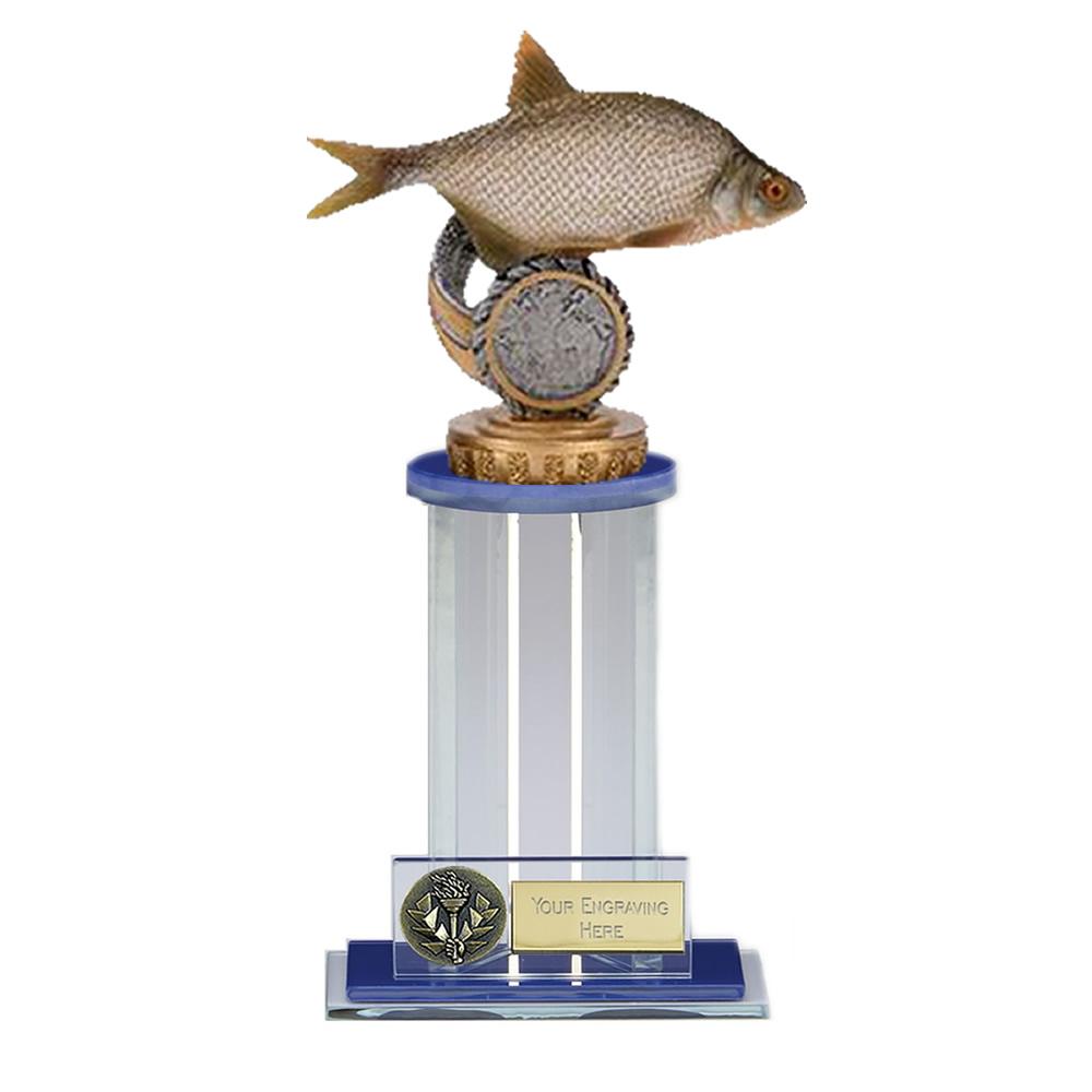 21cm Fish Bream Figure On Fishing Trafalgar Award