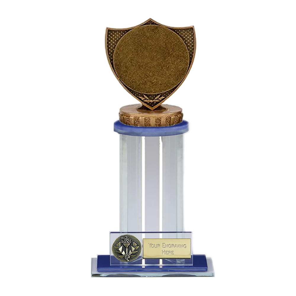 "21cm Shield with 2"" Centre Figure on Trafalgar Award"