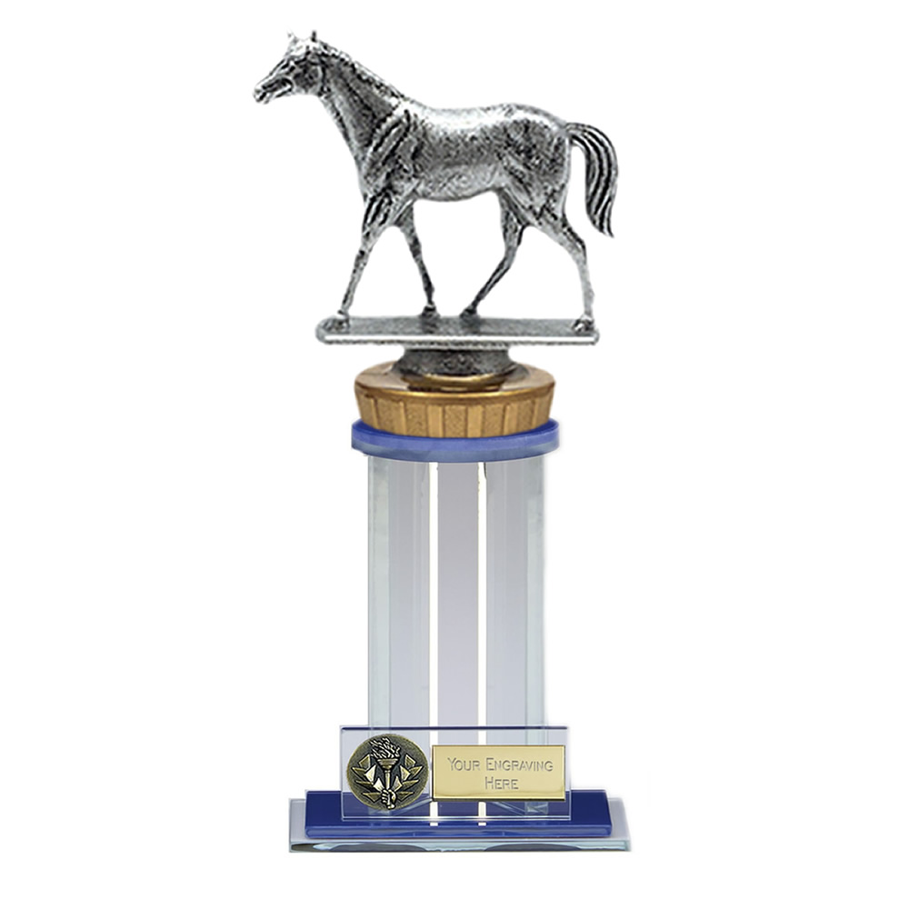 21cm Quarter Horse Figure on Horse Riding Trafalgar Award