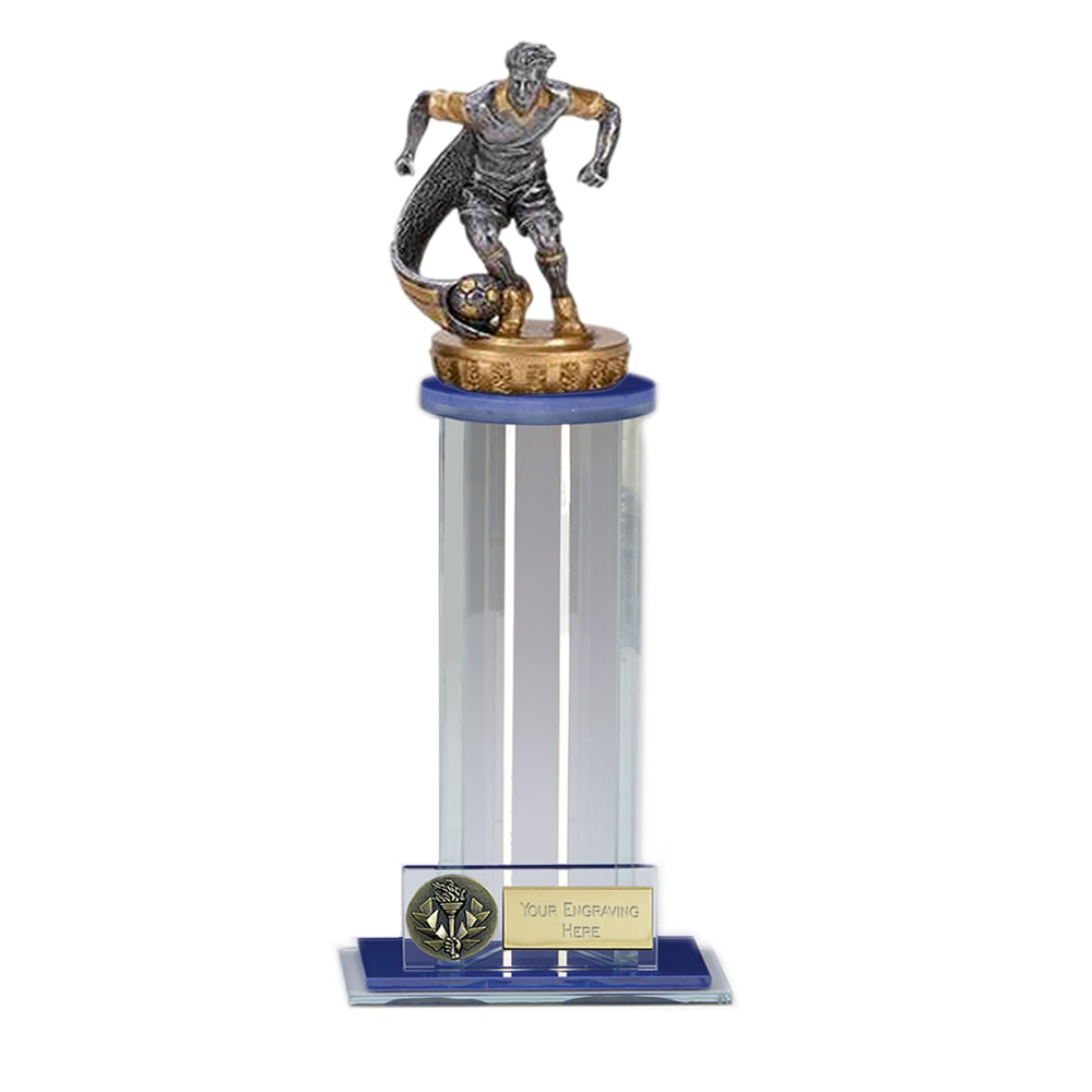 24cm Football Player Figure on Football Trafalgar Award