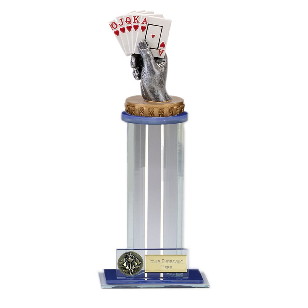 24cm Playing Cards Figure On Trafalgar Award