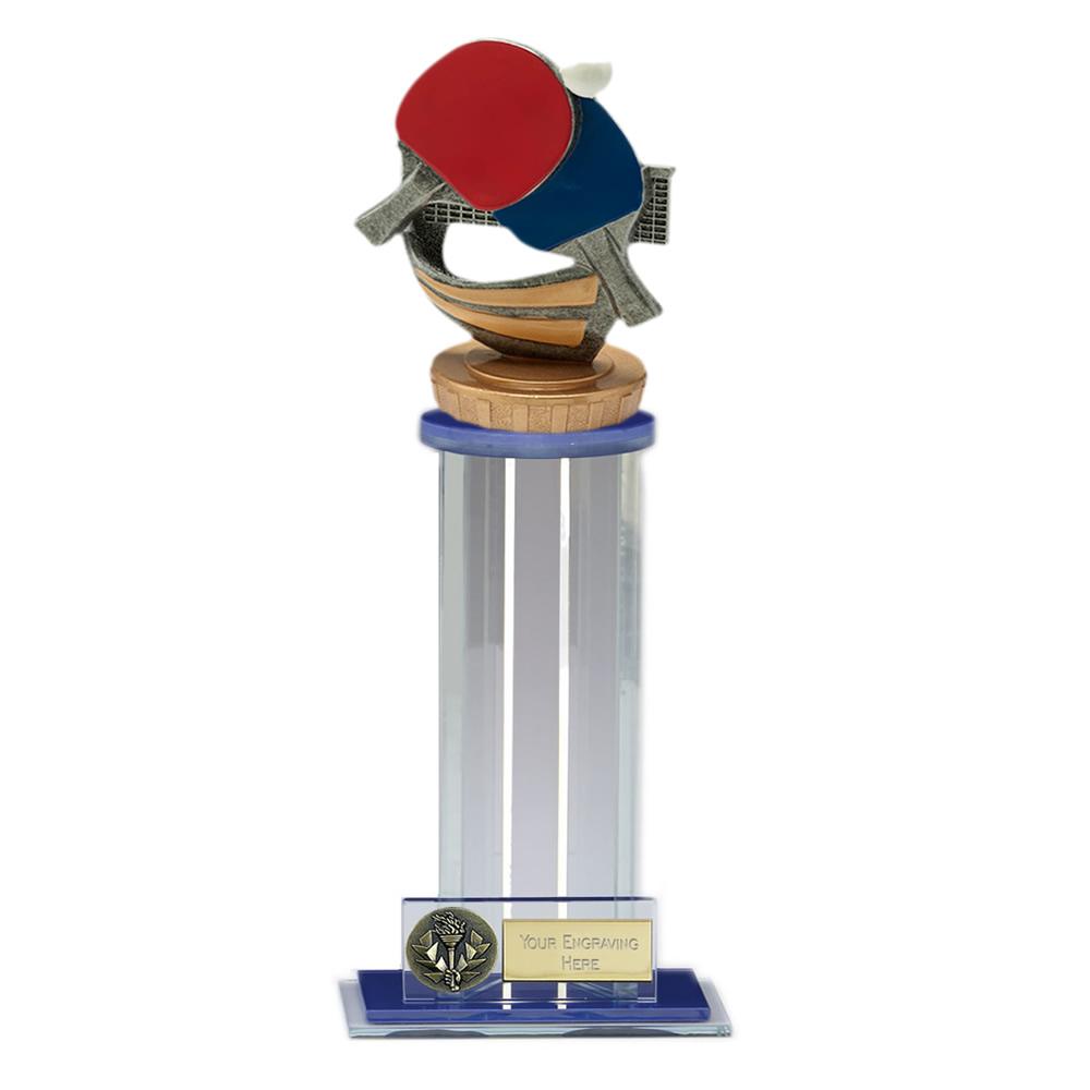 24cm Table Tennis Figure on Table Tennis Trafalgar Award