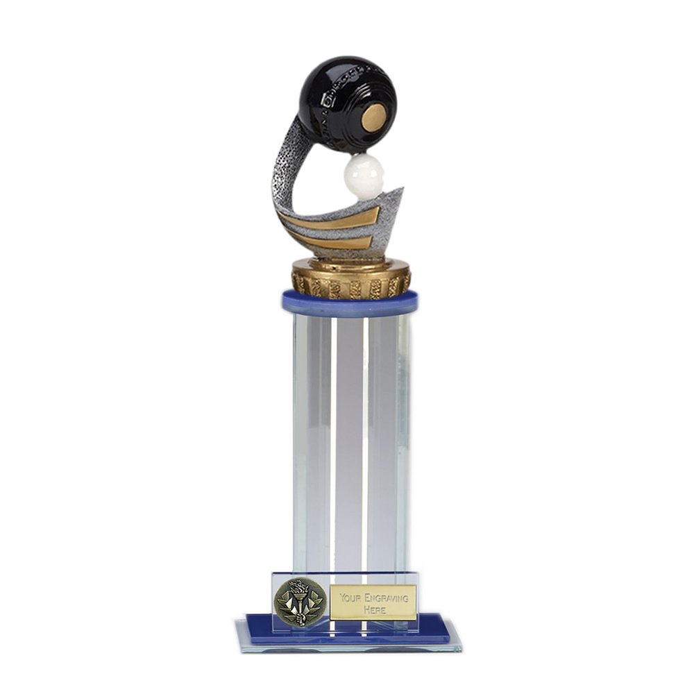 24cm Lawn Bowls Figure on Bowling Trafalgar Award