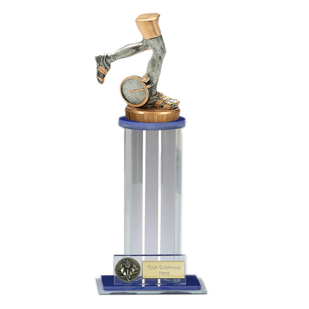 24cm Running Neutral Figure On Trafalgar Award