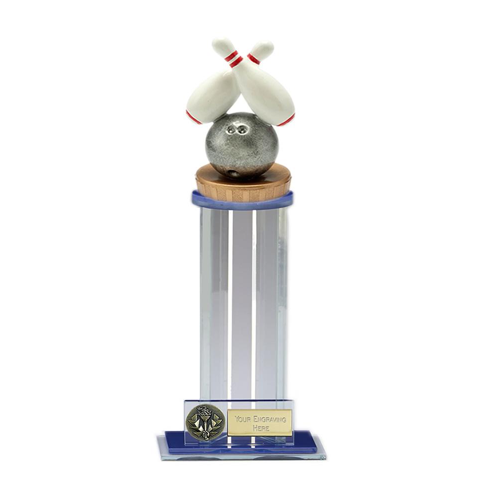 24cm Ten Pin Bowling Figure on Bowling Trafalgar Award