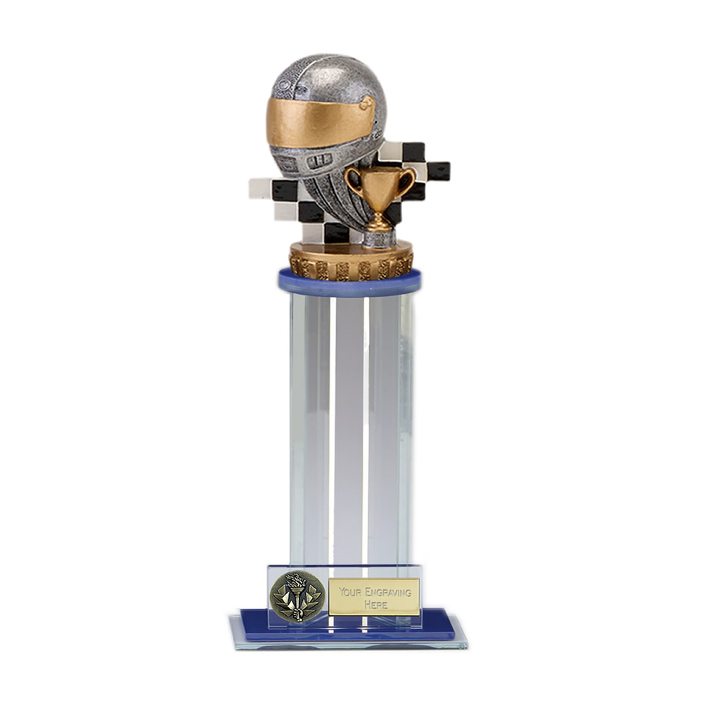 24cm Motorsport Neutral Figure on Motorsports Trafalgar Award
