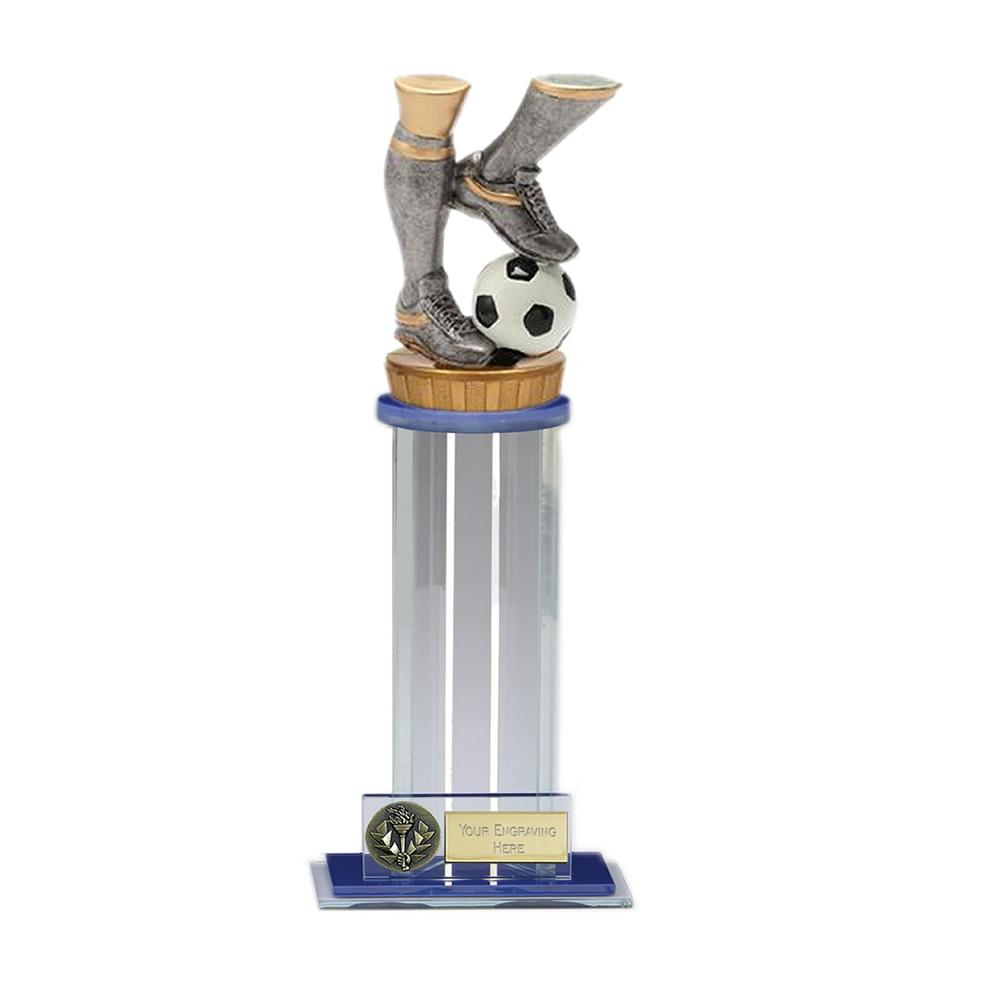 24cm Football Legs Figure on Football Trafalgar Award