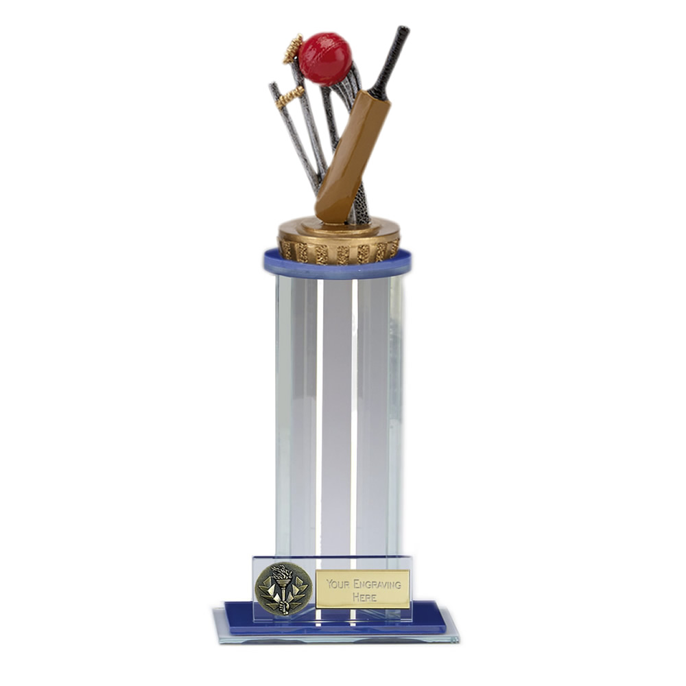 24cm Cricket Figure on Cricket Trafalgar Award