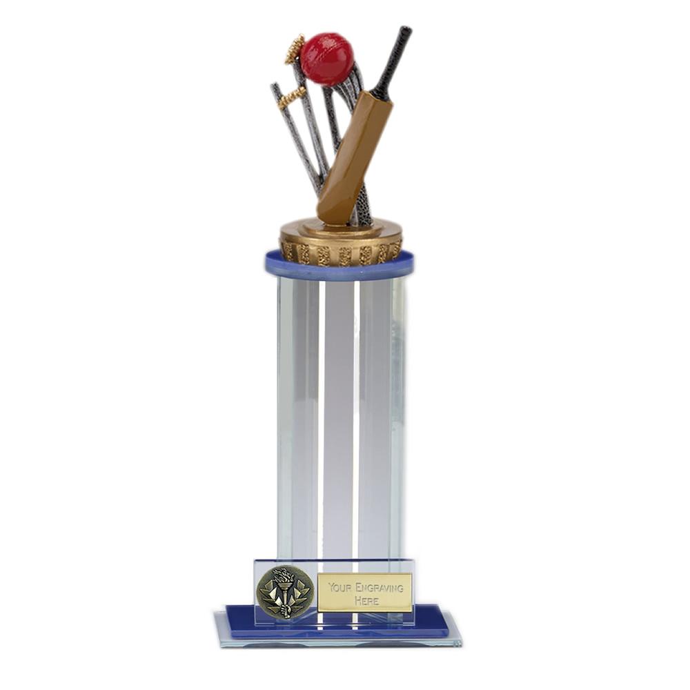 24cm Cricket Figure On Cricket Trafalgar Award