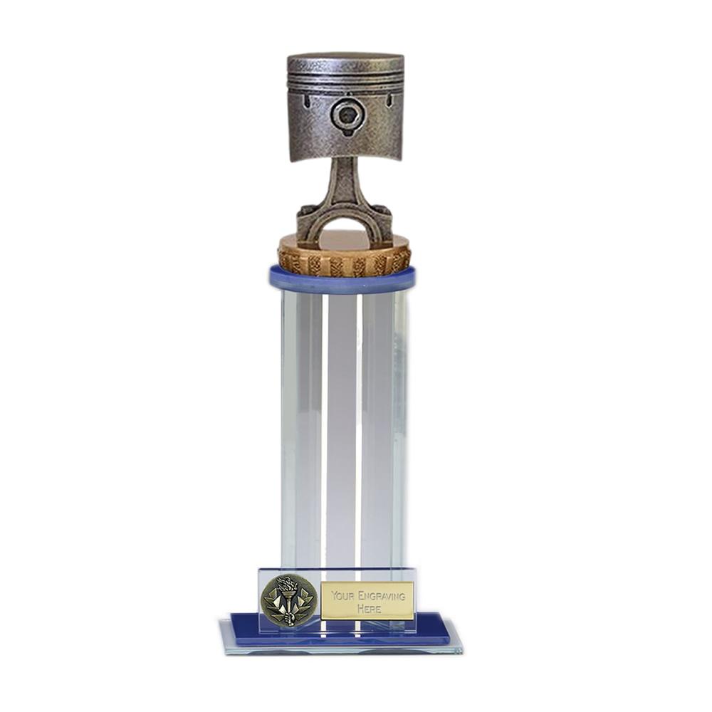 24cm Piston Figure On Motorsports Trafalgar Award
