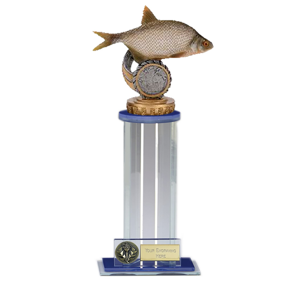 24cm Fish Bream Figure on Fishing Trafalgar Award