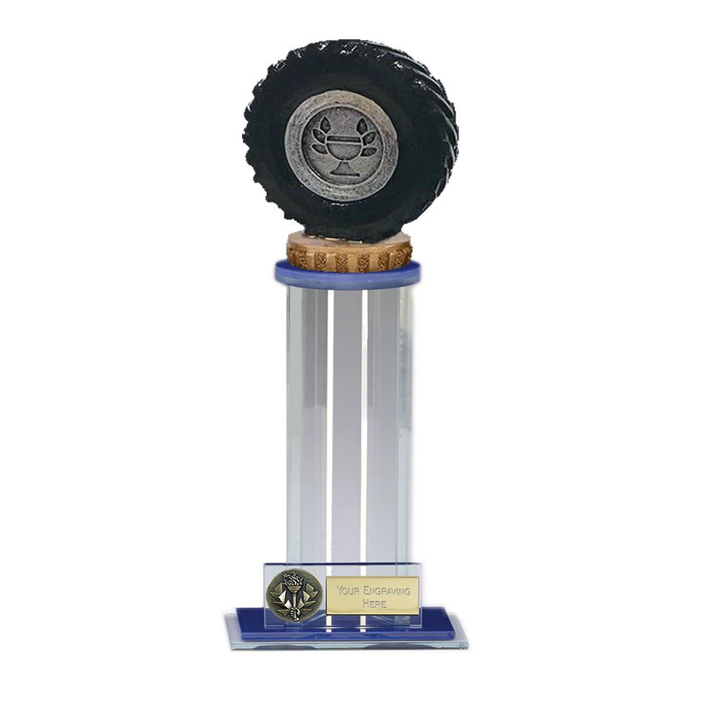24cm Tractor Tyre Figure On Trafalgar Award