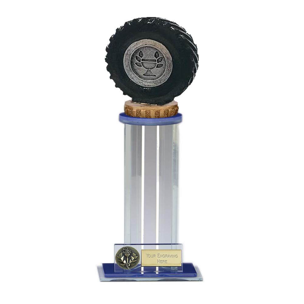 24cm Tractor Tyre Figure On Trafalgar Award