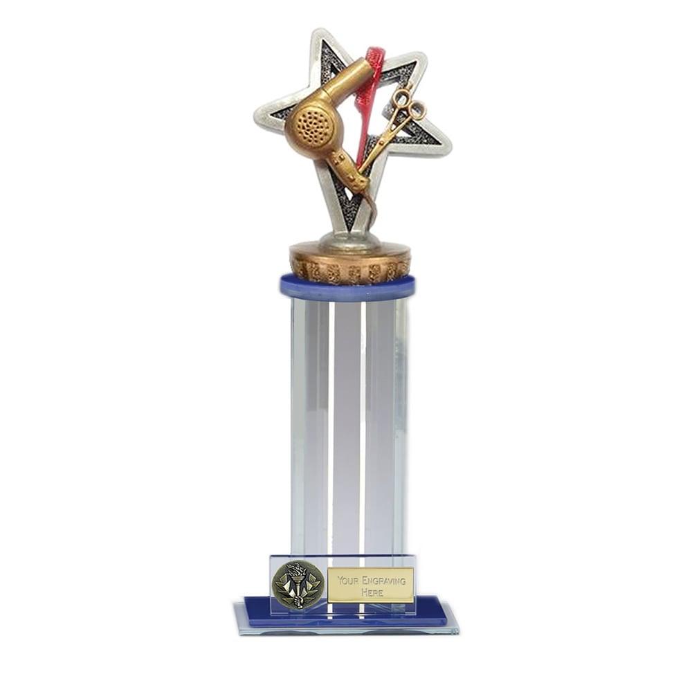 24cm Hairdressing Figure on Hairdressing Trafalgar Award