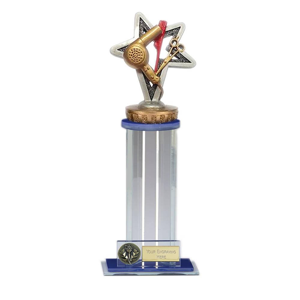 24cm Hairdressing Figure On Trafalgar Award