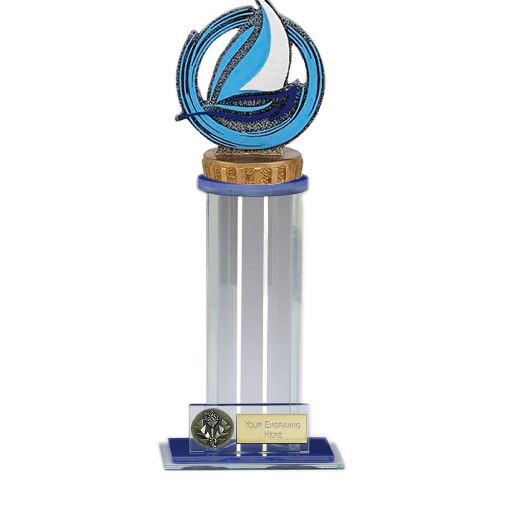 24cm Sailing Figure on Sailing Trafalgar Award