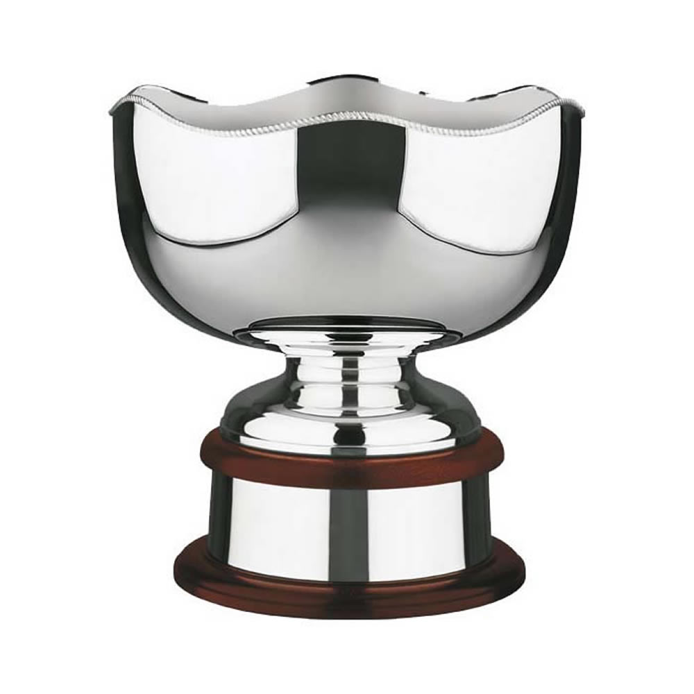 12 Inch Plain Bowl With Scalloped Edge Ultimate Rose Bowl