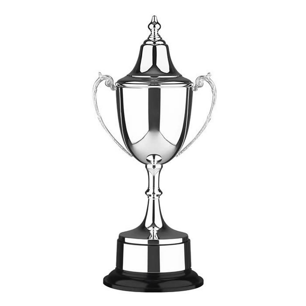 17 Inch Tall Stem & Black Base Prestige Trophy Cup