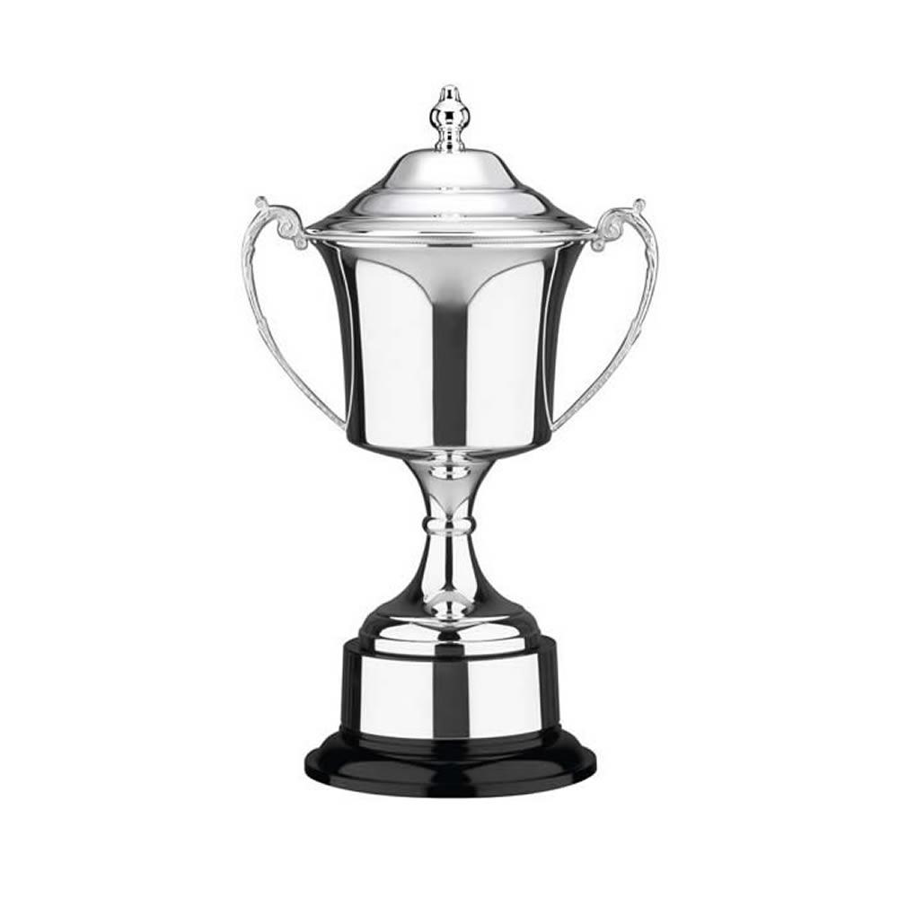 11 Inch Cask Bowl & Black Base Prestige Trophy Cup