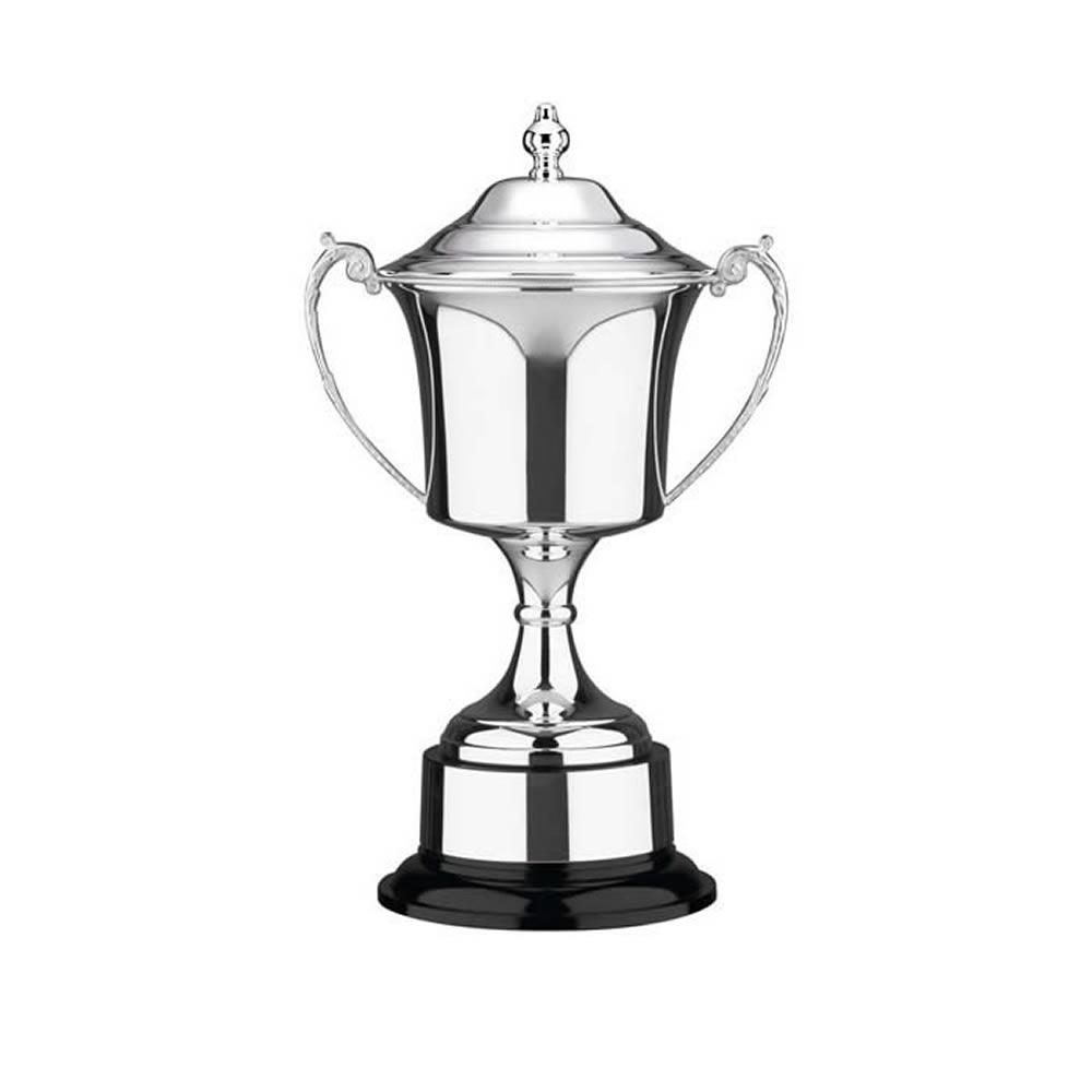 14 Inch Cask Bowl & Black Base Prestige Trophy Cup