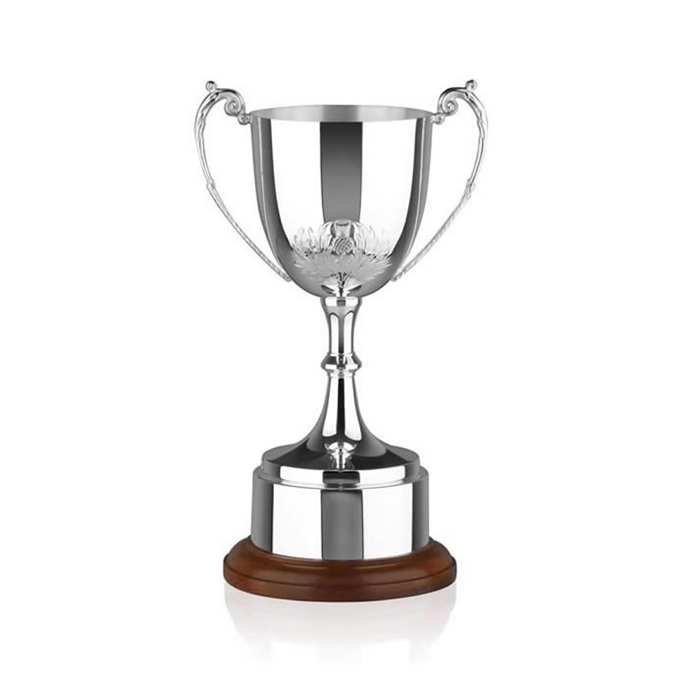 12 Inch Thistle Embellishment Ultimate Trophy Cup
