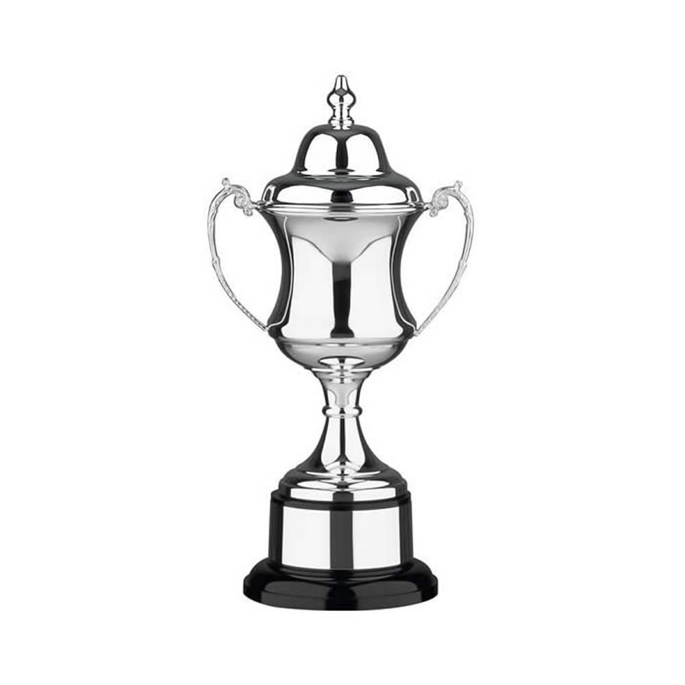 12 Inch Georgian Cup & Black Plinth Prestige Trophy Cup