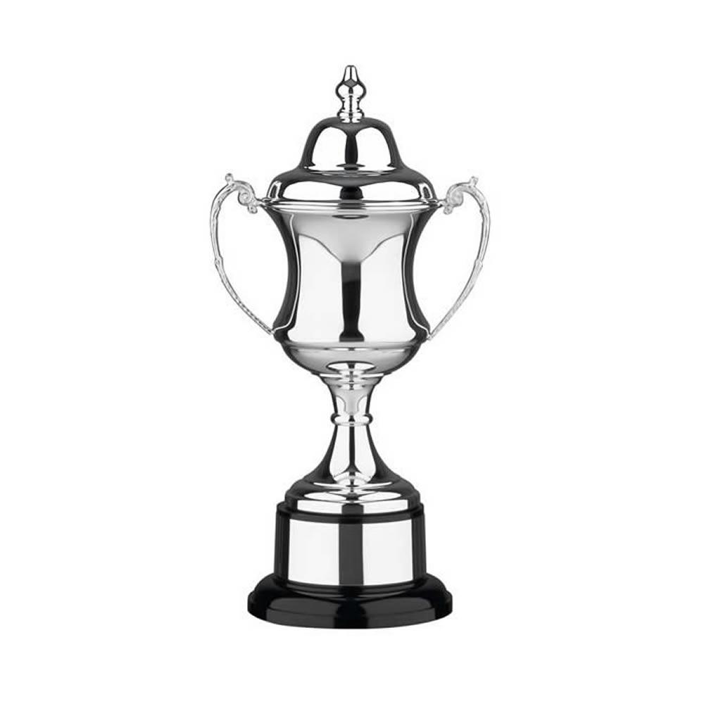 15 Inch Georgian Cup & Black Plinth Prestige Trophy Cup