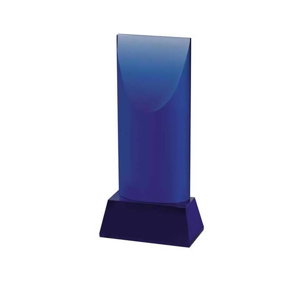 7 Inch Slanted Top Optical Crystal Award