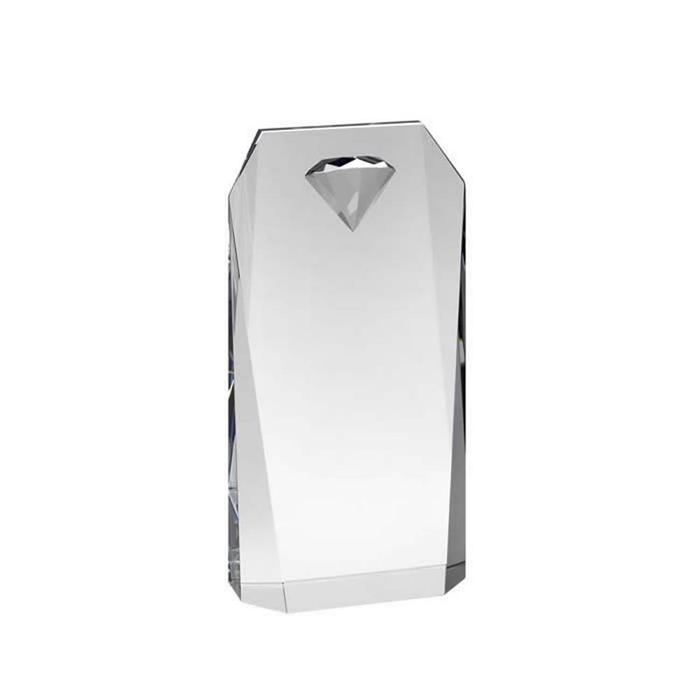 6 Inch Diamond Shaped Embellished Portrait Optics Award