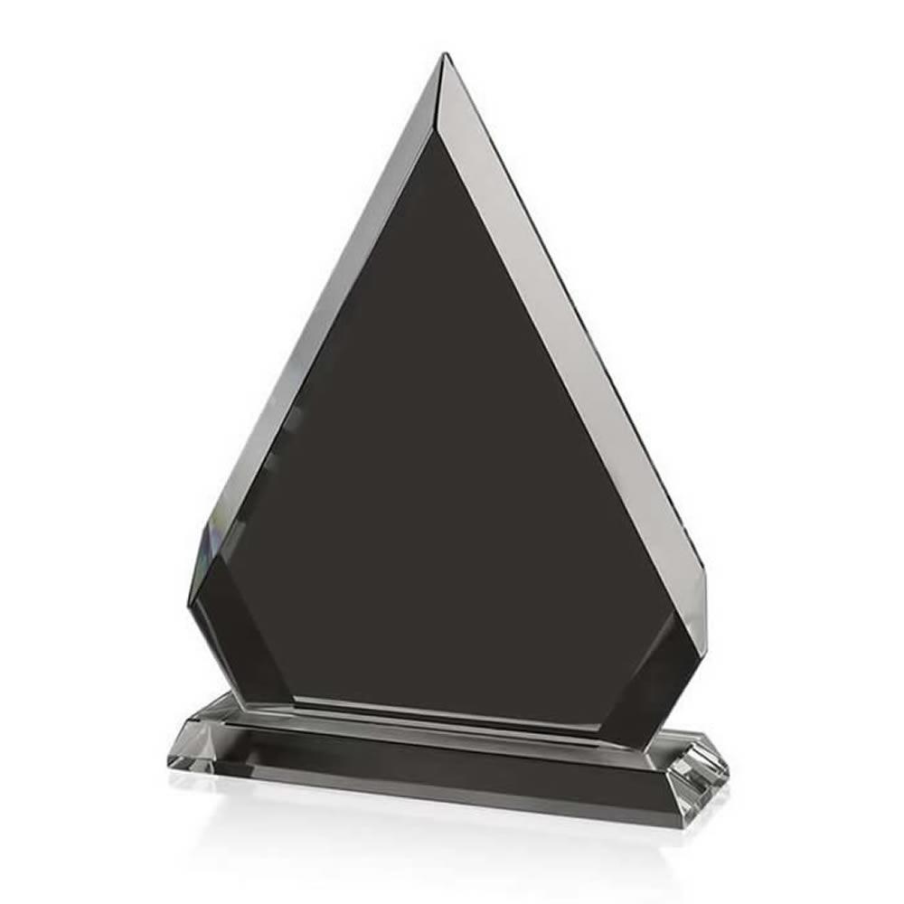 11 Inch Triangle Optical Crystal Award
