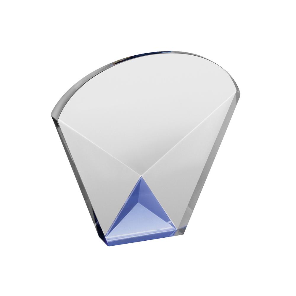 5 Inch Simple Optical Crystal Award