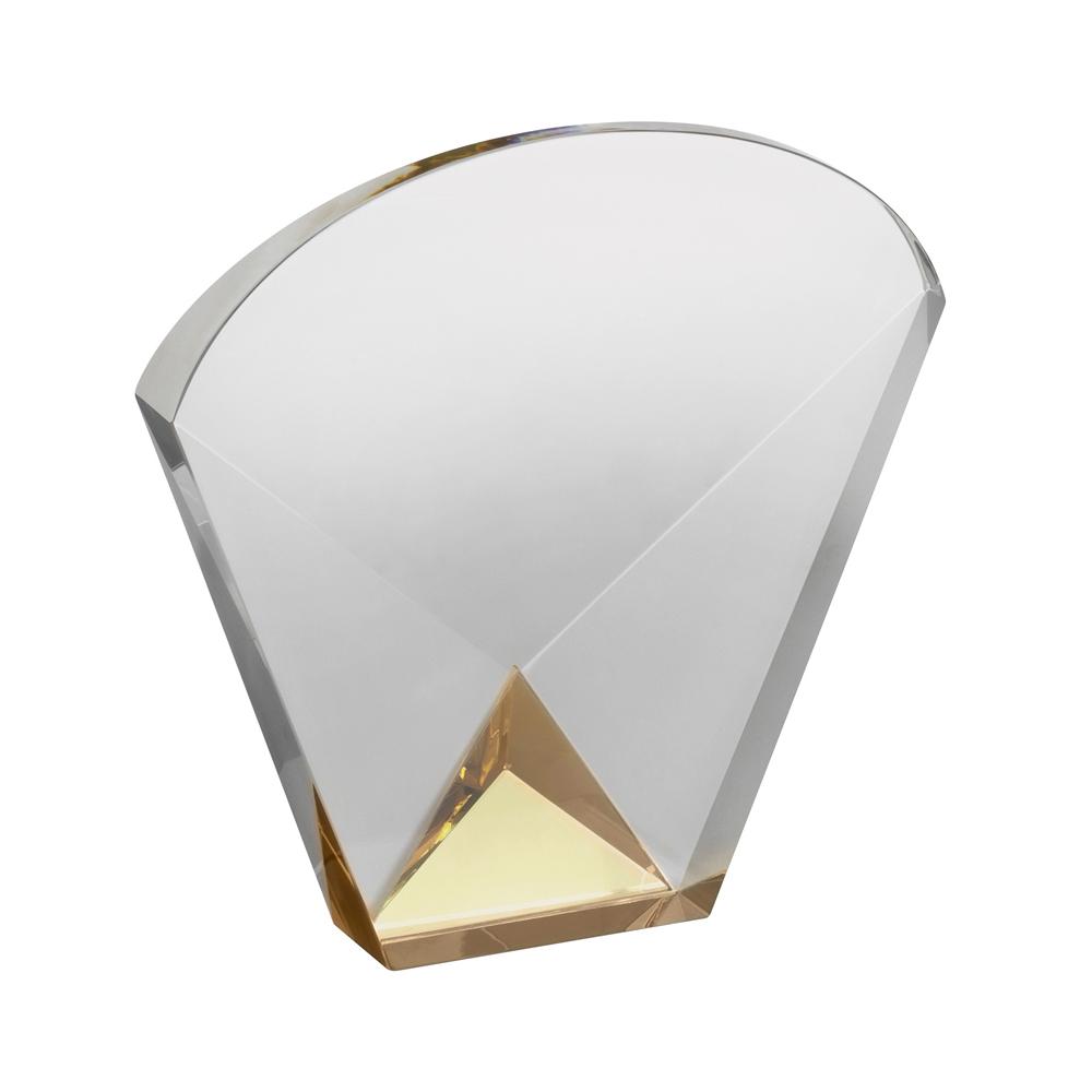 6 Inch Simple Optical Crystal Award