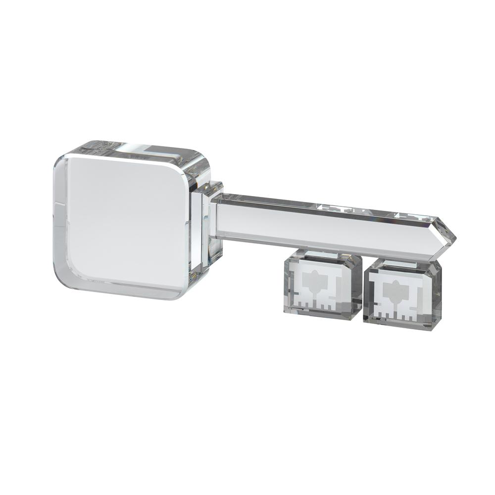 10 Inch Key Optical Crystal Award
