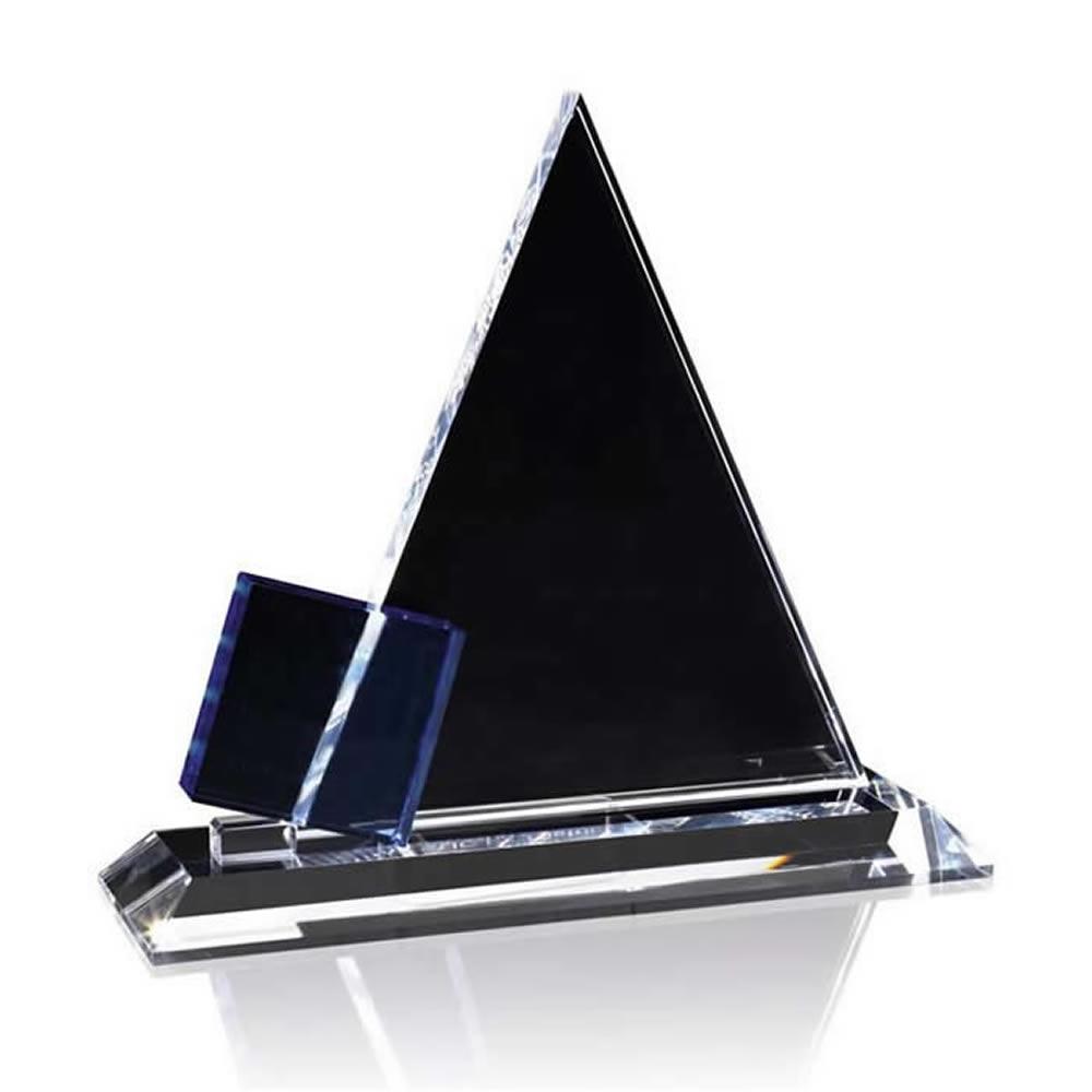 6 Inch Pyramid Optical Crystal Award