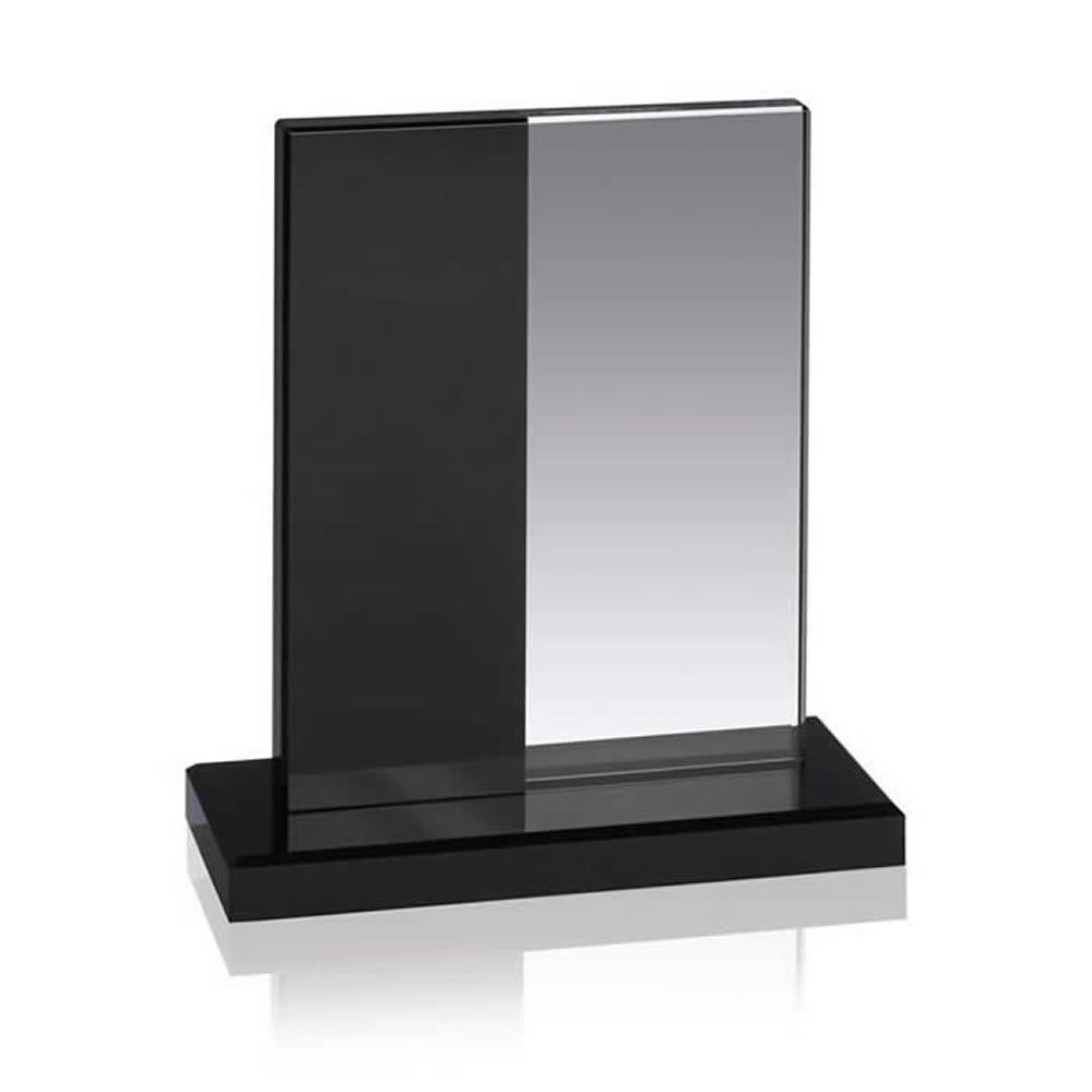 7 Inch Stripe Optical Crystal Award