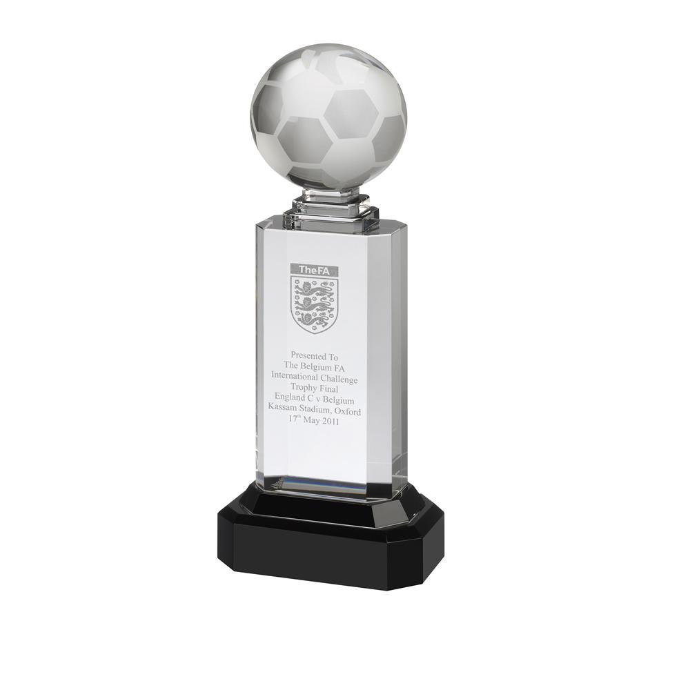 11 Inch Ball On Stand Football Optics Award
