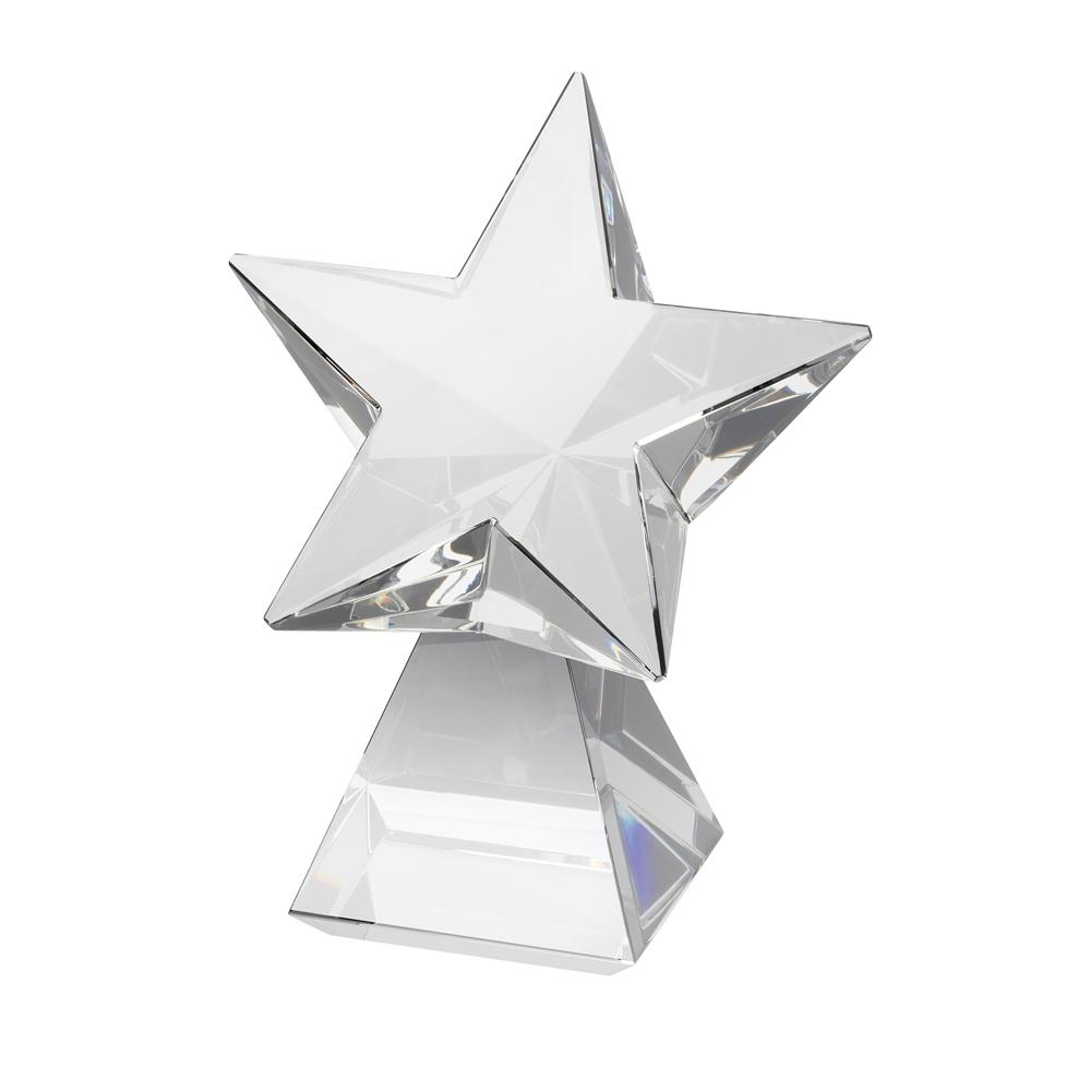 8 Inch Rising Star Optical Crystal Award