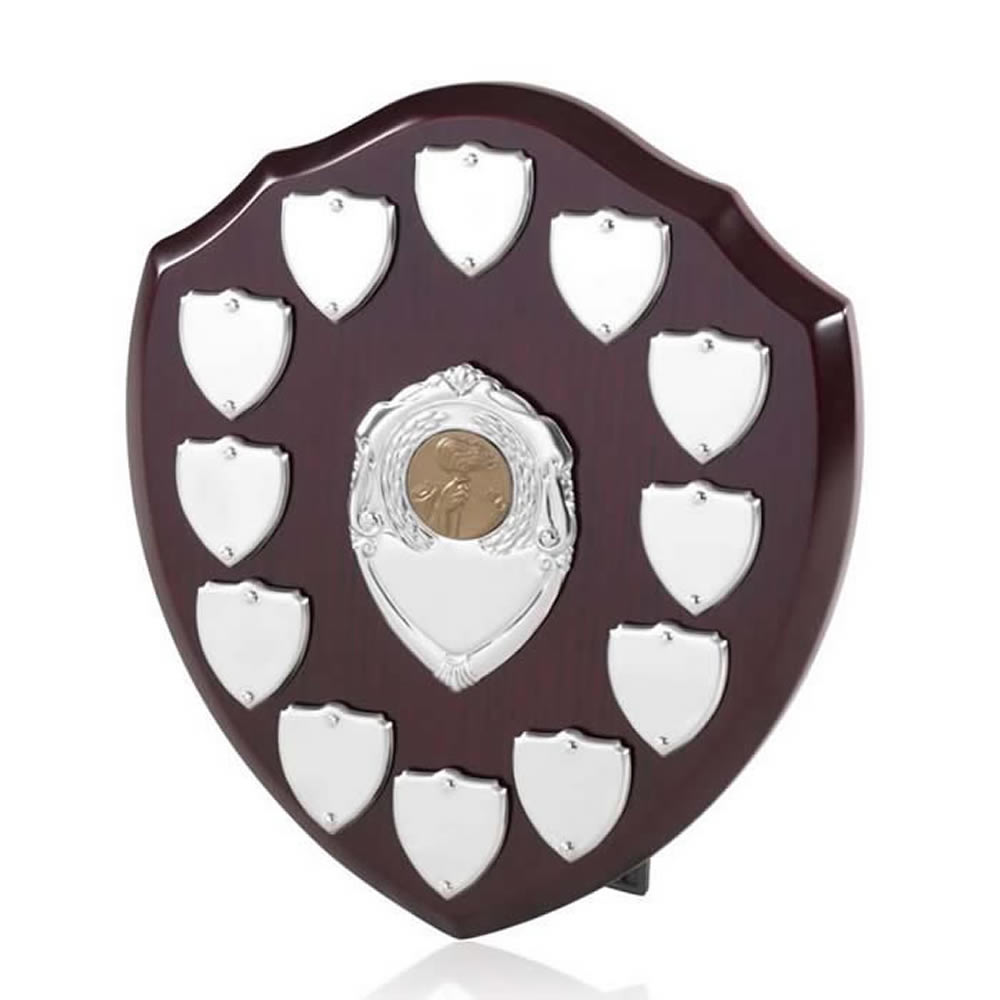8 Inch Perpetual 12 Entry Jaunlet Shield