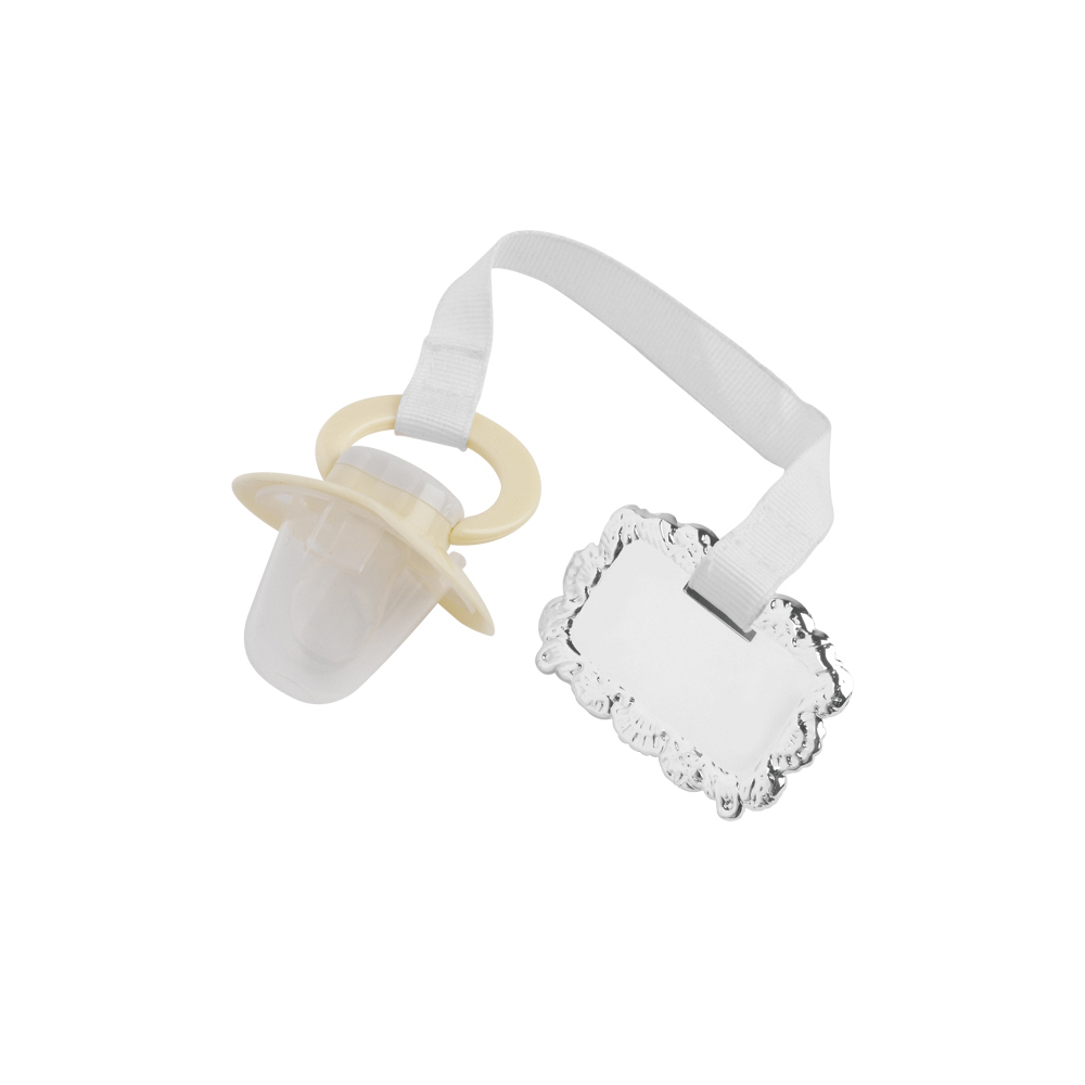 Childs Pacifier Christening Jaunlet Pacifier