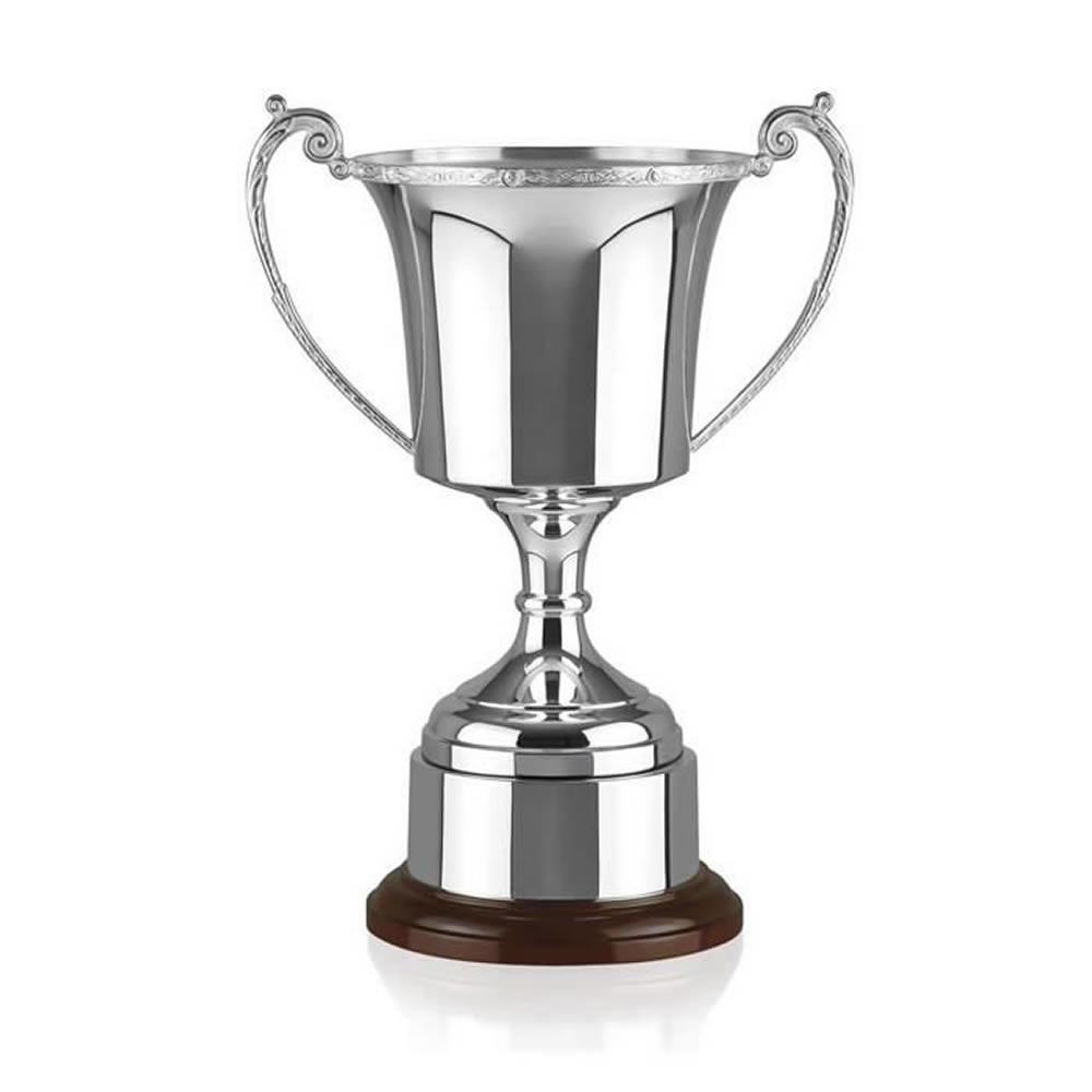 11 Inch Cask Cup & Decorative Rim Celtic Trophy Cup