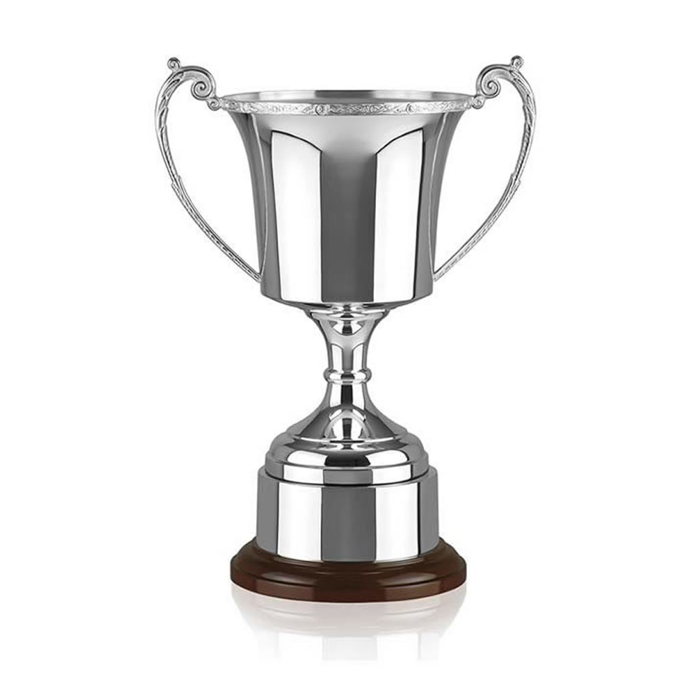 14 Inch Cask Cup & Decorative Rim Celtic Trophy Cup