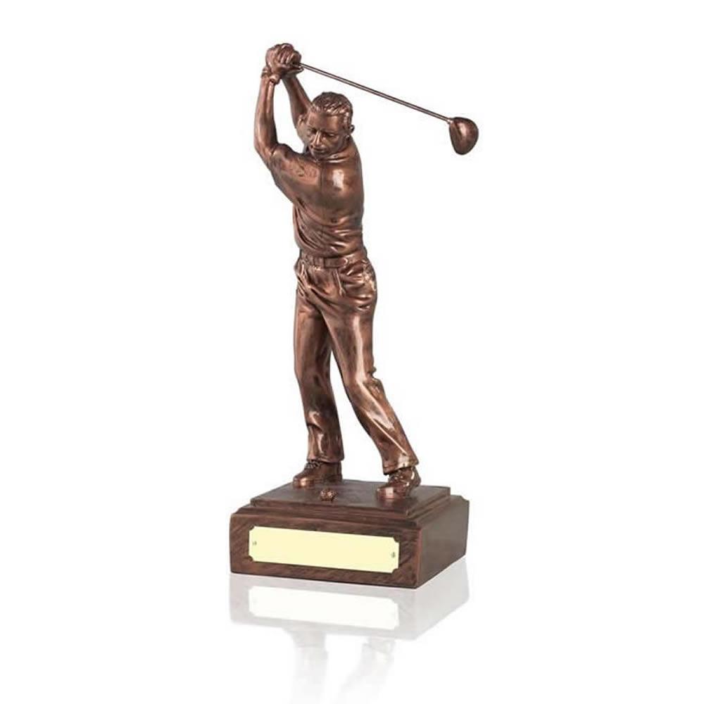 6 Inch Male Golf Antiquity Figure Award