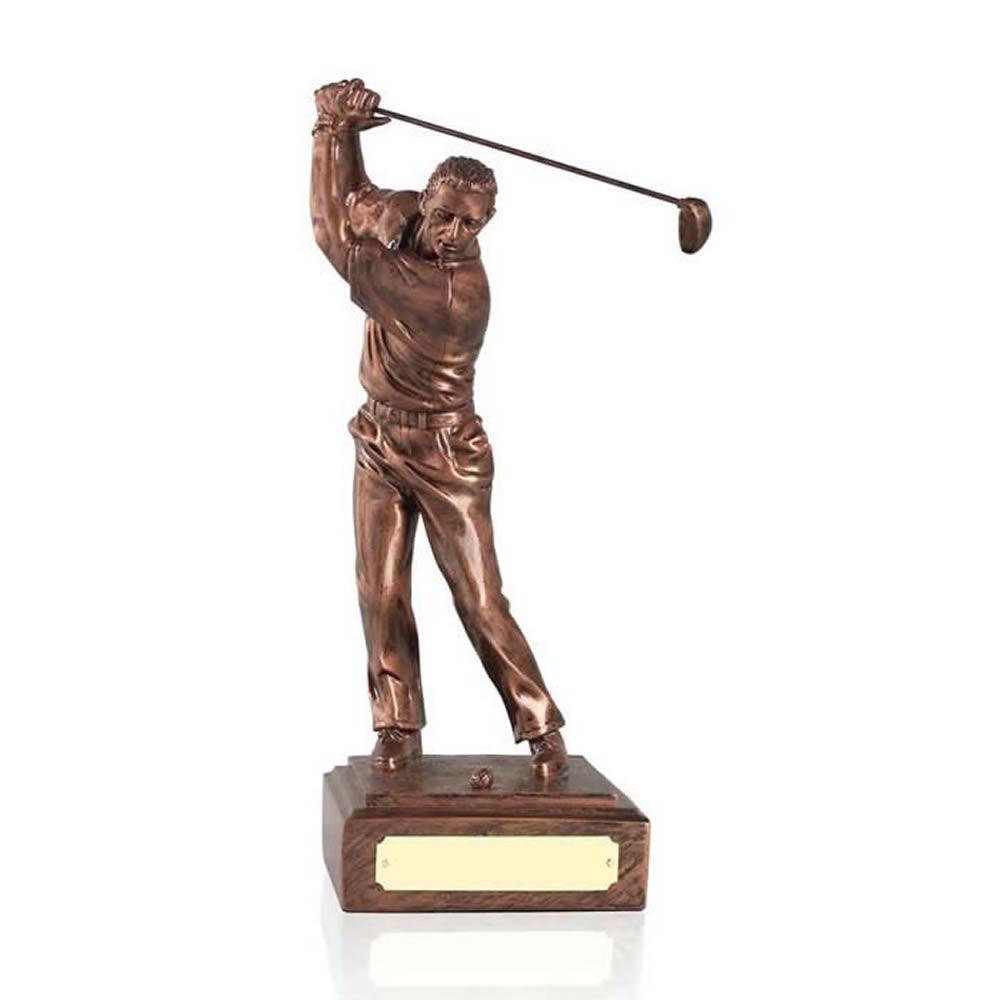 9 Inch Male Golf Antiquity Figure Award