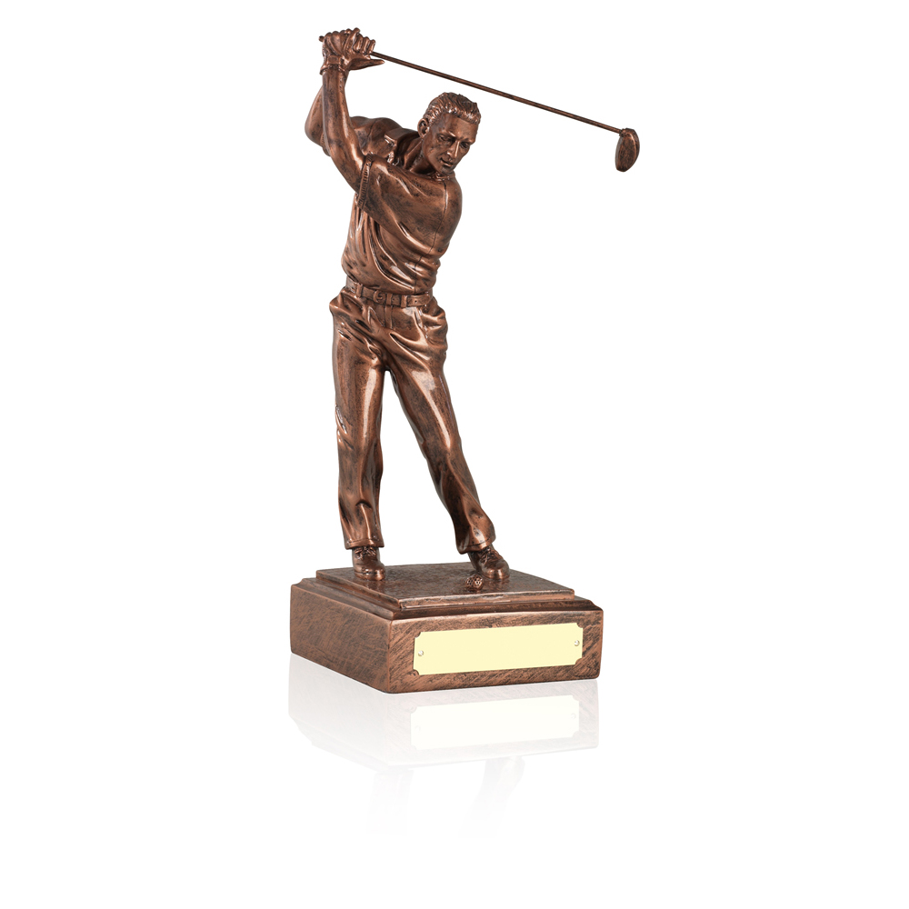 12 Inch Male Golf Antiquity Figure Award